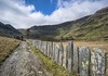 Road to Rhosydd (Photos taken with Sony mirrorless cameras) Tags: slate fencing track wales cwm