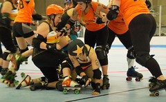 023 (Bawdy Czech) Tags: roller derby lava city dolls lcrd basin bombers wftda flat track skate bend or oregon april 2018 lavacity rollerderby klamath falls spit fires dis maully