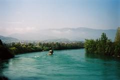 Drina river house (Jerry501) Tags: river view landscape 25mm zm carlzeiss m6 leica serbia drinariver travel portra400 kodak film