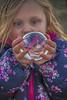 Magic (livininfrostytown) Tags: grandy granddaughter child girl silly crystalball reflection upsidedown fun tobefour fouryears familyfun glass ball round magic charmedimpressions 2018