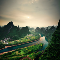 Guilin Chine Li River (EtienneR68) Tags: china chine montagne sony a7riii arbre eau forest forêt guangxi guilin landscape liriver mountain nature paysage tree water yangshou