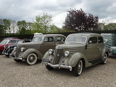 FORD V8  DZ-48-25 1936 / 2018 + TK-69-74 FORD V8 1936 / 1956 rit Alpe Duzes bij A Ford Museum Beekbergen (willemalink) Tags: ford v8 dz4825 1936 2018 tk6974 1956 rit alpe duzes bij a museum beekbergen