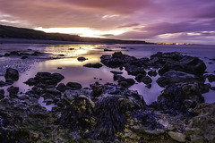 Time to reflect (- A N D R E W -) Tags: nature sky color uk may light sunset atardecer sun long exposure seaweed rockpool rocks beach playa sea mar sand arena