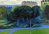 Maria Zaikina, Evening landscape, oil on cardboard, 21x29.7 cm, 2018 (suzy_yes) Tags: ©mariazaikina landscape painting oil fromlife fromnature pleinair kunstwerk painters modernpainting alaprima artist