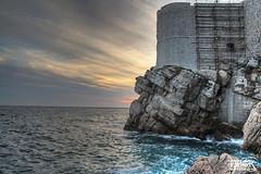 Dubrovnik (morbidtibor) Tags: croatia dubrovnik adriatic citywalls sunset ragusa