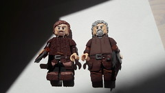 Overview of the Vikings (read desc.) (oskarlechner04) Tags: viking vikings greek roman armor lego legocustome selfmade sculpt starwars overview axe shield brothers leather legosculpt attack war warrior mashine old fight moc ww2