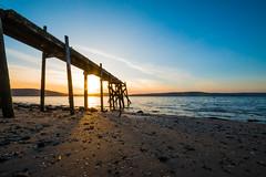 Holywood_Pier_May2018 (ryan.c.dallas) Tags: holywood pier belfast ireland northern sunset coast shore seaside sea sky blue sand beach co down canon eos efs 1022mm