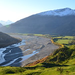 Braided River in New Zealand thumbnail