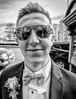 Prom King (JohnKosterImages) Tags: prom cocky king sunglasses throwback downtown smug black white