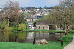 Reflections on the Pond (Halliwell_Michael ## Offline mostlyl ##) Tags: lauradanswedding westyorkshire nikond40x 2018 spring springtime eastriddlesdenhall keighley reflection reflections trees pond landscapes water