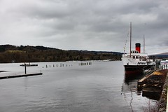 lomond shores (anna n rob) Tags: loch lomond lochlomond scotland uk scottish water boat maidoftheloch visitors tourists attraction paddlesteamer