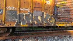 IMG_3173 (jumpsoner) Tags: freights freightculture freightgraffiti foamer foamwr freghtculture railroadphotography railroad railfan benching benchingsteel benchingtrains bencher boxcars benchingfreights bgsk photography graffiti graffculture graff