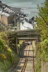 funicular railway (Lonnie1963) Tags: aberystwyth sea beach view landscape constitution hill weather funicular railway