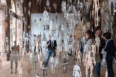 B@bel(s) (Clydomatic) Tags: art papier installation vernissage abbayedalspach kaysersberg