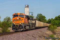 BNSF 6060 | GE ES44AC | BNSF Birmingham Subdivision (M.J. Scanlon) Tags: bnsf bnsfbirminghamsub bnsfbirminghamsubdivision birminghamsub burlingtonnorthernsantafe business canon capture cargo coal color commerce digital eos engine freight haul horsepower image impression landscape loaded locomotive logistics mjscanlon mjscanlonphotography merchandise millercoal mississippi mojo move mover moving outdoor outdoors perspective photo photograph photographer photography picture plantmiller rabbitridgeroad rail railfan railfanning railroad railroader railway real scanlon sky steelwheels super track train trains transport transportation tree view wow ©mjscanlon ©mjscanlonphotography bnsf6060 byhalia