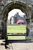 Cherry Blossoms (Ed Swift) Tags: 2470f4lis 7d2 archway canon cathedral cherryblossomtree pink ruins scotland standrews