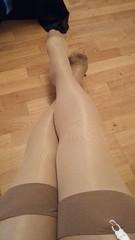 Nylon fun (Sissy kaylah) Tags: fullyfashionednylons stockings legs encasedlegs nylons wolford trans transvestite tranny crossdresser crossdressing crossdress
