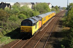 COLAS Rail 67023 - Mansfield (the mother '66' 66001) Tags: class67 colasrail 67027 67023 mansfield robinhoodline nottinghamshire rail railwys 1q68 derby derbyrtc tenterlane