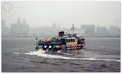 Snowdrop (zweiblumen) Tags: snowdrop ferry rivermersey woodsideferryterminal birkenhead merseyside england uk liverpool dazzleship canoneos50d zweiblumen picmonkey mvsnowdrop mvwoodchurch 1959 merseyferries