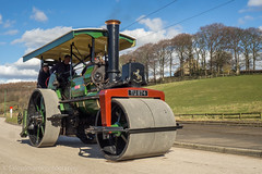 Beamish 2018 (Ben Matthews1992) Tags: 2018 great war ww1 steam fair beamish county durham old vintage historic preserved preservation vehicles vehicle transport aveling porter roller lydia tu874 10ton traction engine