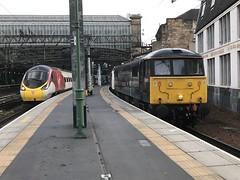 Glasgow Central - 10-05-2018 (agcthoms) Tags: scotland glasgow glasgowcentral station railways trains gbrf caledoniansleeper class86 86101