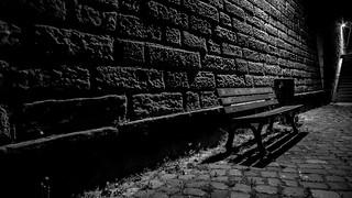 lonely bench - schöne Aussicht!