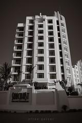 Λrt Deco (Elton Pelser) Tags: bw mono lowkey photography nikond3400 monochrome greyscale achitecture building darksky suncoast artdeco blackandwhite
