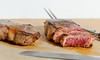 DSC00605 (Saundi Wilson Photography) Tags: food cuisine product eating cooking steak rare beef grassfed cutting cuttingboard carnivore grilled