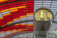 Office with a view (Giloustrat) Tags: amsterdam gare k3 pentax multicolor architecture geometry netherlands saariysqualitypictures
