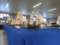 IMG_5579 (sebeus) Tags: lego brickmania wetteren 2018 exhibition pirate layout island ship sea ocean fort beach port harbor town