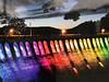 Lichterfest am Edersee (VenusTraum) Tags: lichterfest edersee rainbow regenbogen farben colors stausee mauer fest party see