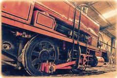 The Engine Shed (Ian Rowing) Tags: flickrfriday lowangle east anglian railway museum steam locomotive train heritage vintage no11