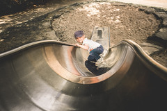 16er Rutsche (Diggoar) Tags: rutsche slide fujifilm xf 16mm xpro2 bruno child playground play