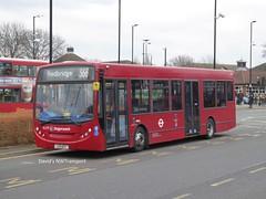Stagecoach London, 36299 [LX11AXT] - Beckton (23/02/18) (David's NWTransport) Tags: stagecoachlondon stagecoach lx11axt adlenviro200 adl enviro200