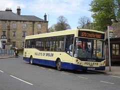 Hulleys 14 Bakewell (Guy Arab UF) Tags: hulleys 14 ae56mdn alexander dennis dart slf mcv evolution bus bakewell derbyshire buses whitelaw stonehouse