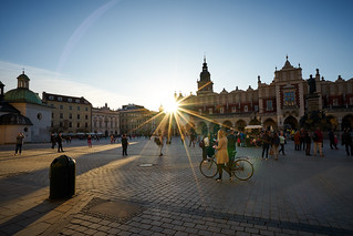 Sunset In Cracow