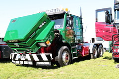 John Somerscales Scania 142E Truck E14TWO Peterborough Truckfest 2018 (davidseall) Tags: john somerscales scania vabis 142e v8 truck lorry tractor unit artic large heavy goods vehicle lgv hgv peterborough truckfest may 2018