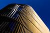 Poséidon (fidgi) Tags: lille architecture lumière light ciel sky bleu blue or argent gold silver parking lignes lines courbes curves ombre shadow canon canoneos5dmk3 tamron abstrait abstract