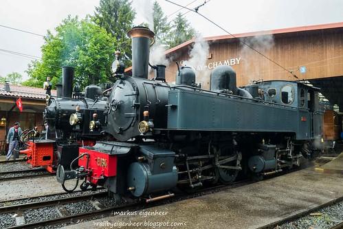 2 Mallet Dampflok C.P E 164 G 2x2/2 / SEG g G 2X2/2 105
