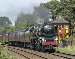 35018 British India Line (chaotic river) Tags: 35018 british india line cumbrian mountain express steam locomotive special train merchant navy class