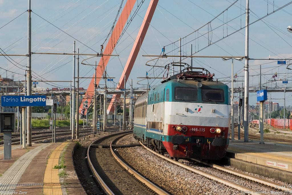 The world 39 s best photos of e444 and rfi flickr hive mind - Orari treni torino porta nuova genova brignole ...