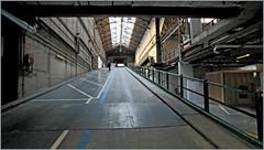 """Kanal - Centre Pompidou"", quai des Péniches, Bruxelles, Belgium (claude lina) Tags: claudelina brussel bruxelles kanal musée museum kanalcentrepompidou garage usine factory citroën garagecitroënyser belgium belgique belgië rampe architecture"