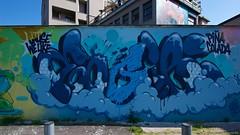 IMGP9728 We like Pina Colada (Claudio e Lucia Images around the world) Tags: murales graffiti graffito paintedwall murale milano greco viazuretti face streetart art arton wall walkingthecity pentax pentaxk3ii ritratto sigma sigma1020 zuretti61 persone pinacolada blue