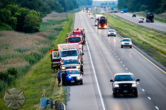 C-K Fire - Stn 11, MVC, Hwy 401 & Scane Rd., 06/20/2016 (Front Page Photography / Hooks & Halligans) Tags: chathamkent chatham kent ck ont ontario canada fire dept department emergency service services ckfire firefighting firefighters firemen fireman mvc mva motor vehicle collision crash accident wreck rollover extrication extricate rescue highway 401 hwy401 hwy station11 station 11 ridgetown engine unit pump pumper tanker tender squad 1111 1112 1113 1122 opp provincial police