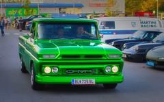 GMC (try...error) Tags: green grün truck pickup gmc classic v8 v6 us uscar car canon 50 12
