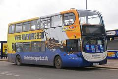 MX56 FSP, Clarence Pier, Portsmouth, March 23rd 2018 (Southsea_Matt) Tags: mx56fsp 19063 stagecoach southdown alexanderdennis enviro400 adl e400 unitedkingdom hampshire clarencepier march 2018 spring canon 80d sigma 1850mm bus omnibus transport