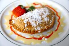 1B5A5635 (David Danzig) Tags: garden gun club the battery atlanta restaurant dessert rhubarb hand pie