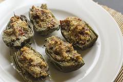 Baked artichoke (Luca Nebuloni) Tags: baked artichoke carciofi forno mangiaconme cibo food