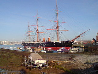 HMS Warrior, Portsmouth, July 31st 2007