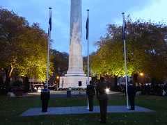 Remembering the ANZAC's (geoffreyw@kinect.co.nz) Tags: cenotaph queens gardens dunedin